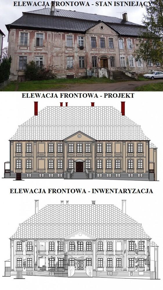 Remont Budynku Pałacowego - Barcino