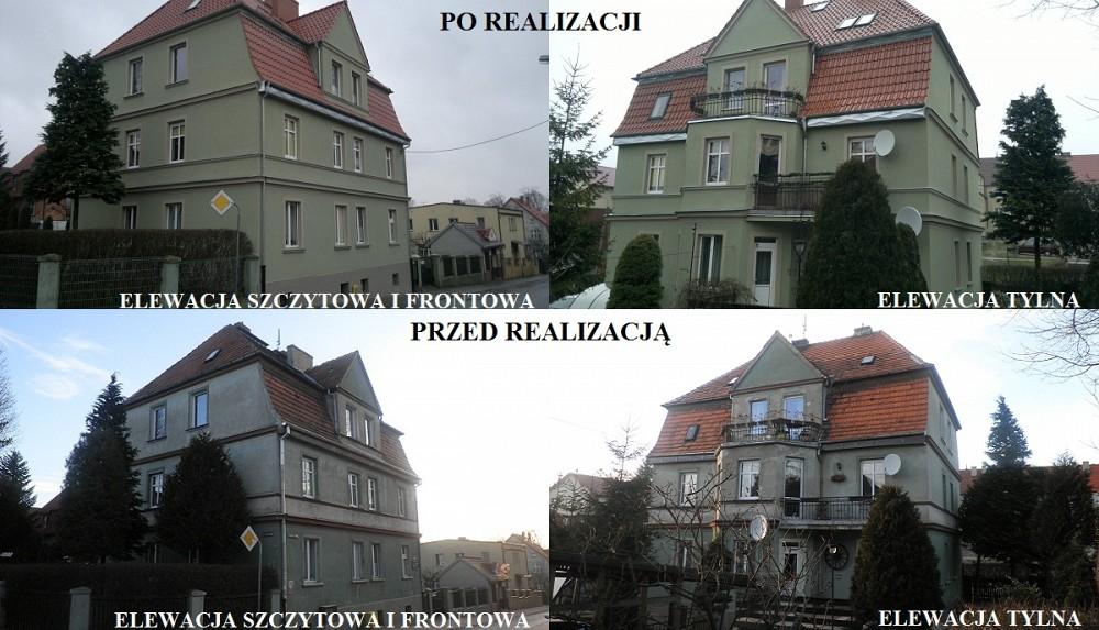 Remont elewacji - ul. Lelewela, Słupsk
