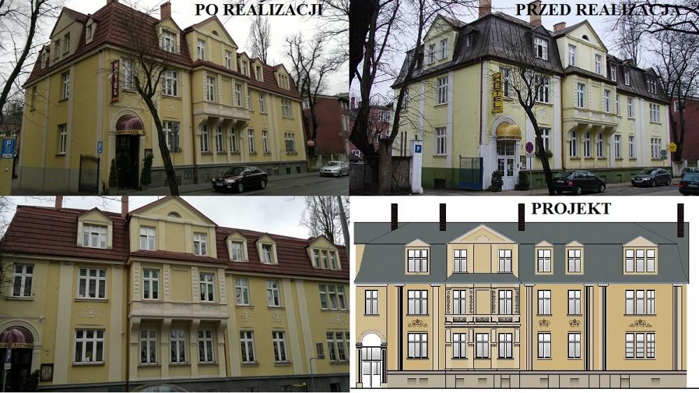 Remont elewacji - ul. Kilińskiego, Słupsk