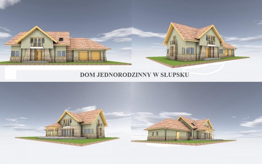 Dom Jednorodzinny - ul.Bauera, Słupsk