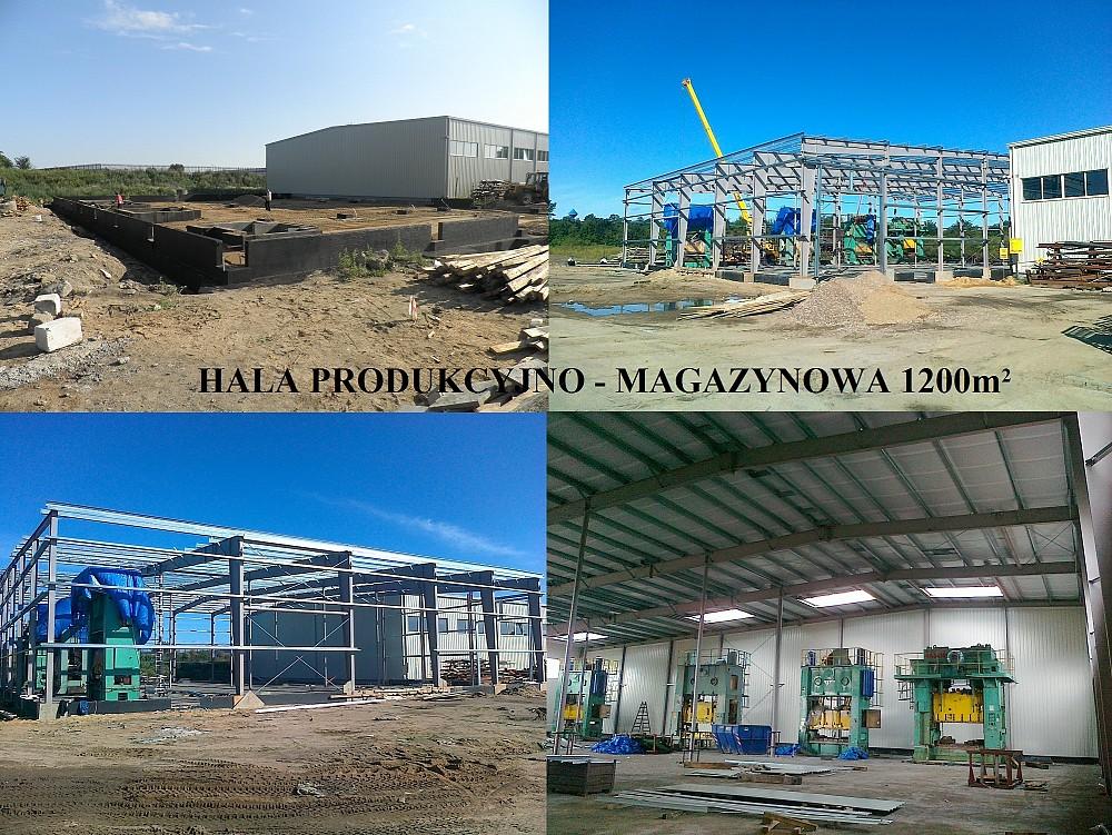 Hala produkcyjno - magazynowa w Słupsku